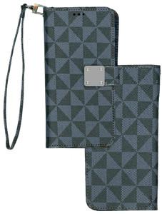 Alcatel 3V MM Portfolio Wallet Navy Blue