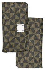 Alcatel 3V MM Portfolio Wallet Brown