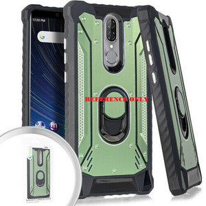 Alcatel 3V MM Magnetic Rugged Case W KS Army Green
