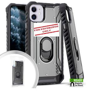 Alcatel 3V MM Magnetic Rugged Case W KS Silver