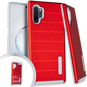 Samsung Note 10 Pro/Plus Deluxe Brushed Case Red