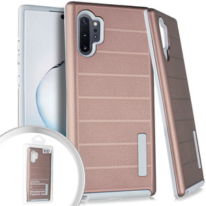 Samsung Note 10 Pro/Plus Deluxe Brushed Case Rose Gold