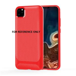 Motorola G7 Play MM Carbon Fiber Slim Case Red