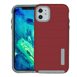 Iphone 11 Deluxe Brushed Case Red