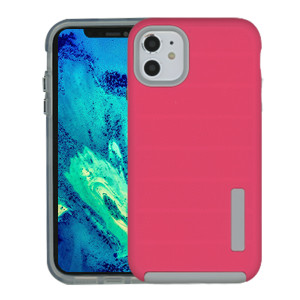 Iphone 11 Deluxe Brushed Case Hot Pink