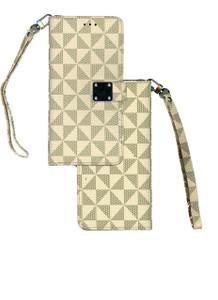LG Stylo 5  Premium Folio Wallet Beige