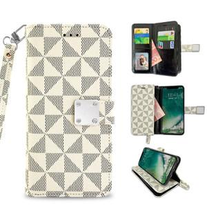 Iphone 11 MM Portfolio Wallet Beige