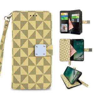 Samsung A01 MM Portfolio Wallet Beige
