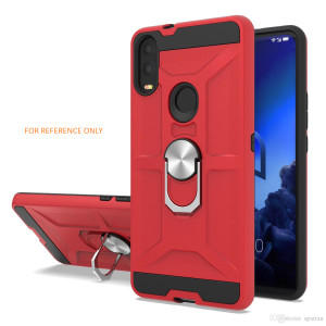 Samsung A01 MM Ring stand Red