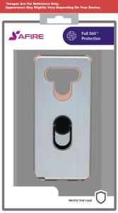 Lg Stylo 6 MM Ring Hybrid Case Rose Gold