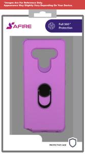 Lg Stylo 6 MM Ring Hybrid Case Rose Purple