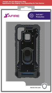Samsung A01 MM Magnetic  Rugged Case W ks Black