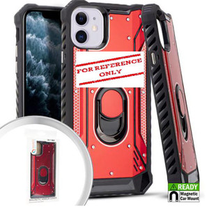 Samsung A01 MM Magnetic  Rugged Case W ks Red
