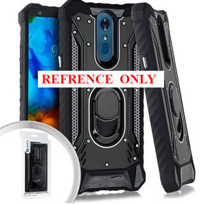 Motorola G Stylus MM Magnetic  Rugged Case W ks Black