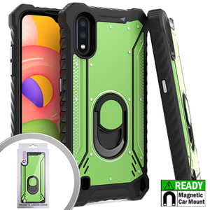 Motorola G Stylus MM Magnetic  Rugged Case W ks Army Green
