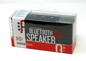 Random Order Portable Bluetooth Speaker