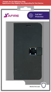 Lg Stylo 6 MM Premium Folio Wallet Black