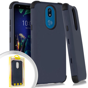 Lg K40 Triple Layer Case Navy