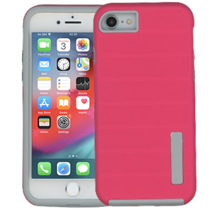 Iphone 7/8/SE 2020 MM Deluxe Brushed Case  Hot Pink