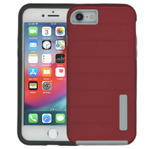 Iphone 7/8/SE 2020 MM Deluxe Brushed Case Red