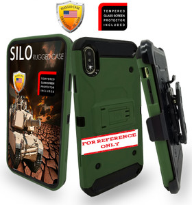 Lg K51 MM Silo Rugged Case Army Green