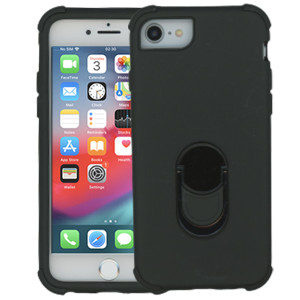 Iphone 6/7/8/SE 2020 MM Ring hybrid Black