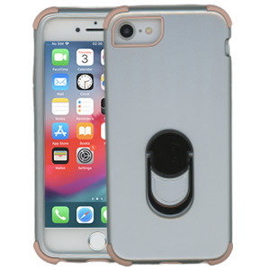 Iphone 6/7/8/SE 2020 MM Ring hybrid Silver