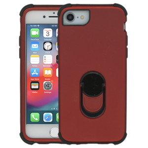 Iphone 6/7/8/SE 2020 MM Ring hybrid Red