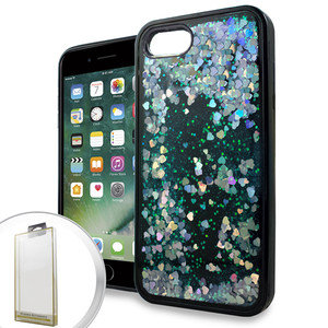 Iphone 7/8/SE 2020 Glitter Motion Style Silver