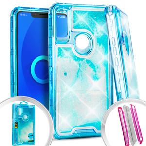 Alcatel 3V Water Glitter Hybrid Teal