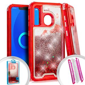 Alcatel 3V Water Glitter Hybrid Red