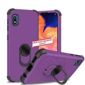 Samsung A21 MM Ring Hybrid Purple