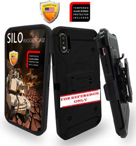 Samsung A21 MM Silo Rugged Case Black