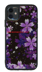Iphone 8plus/7plus MM Marble Purple With Flower