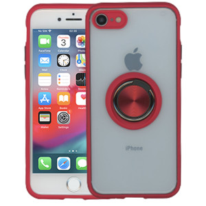 Iphone 8/7/SE 2020 MM Magnet Ring Stand Red