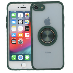 Iphone 8/7/SE 2020 MM Magnet Ring Stand Midnight Green