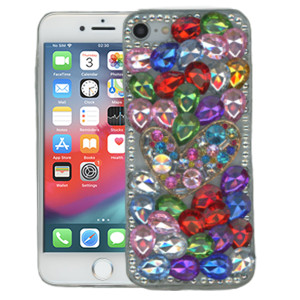 Iphone 8/7/SE 2020 MM 3D Bling Colorful With Heart