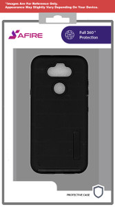 Lg Aristo 5+ MM Deluxe Brushed Case Black