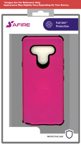 Lg Aristo 5+ MM Deluxe Brushed Case Hot Pink
