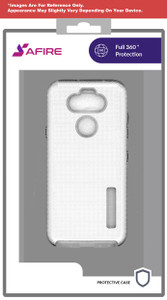 Lg Aristo 5+ MM Deluxe Brushed Case  Silver