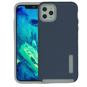 Iphone 11 Pro Max MM Deluxe Brushed Case  Navy Blue