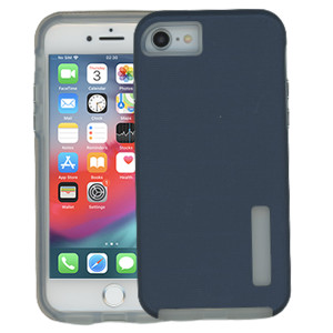Iphone  8/7/SE 2020 MM Deluxe Brushed Case  Navy Blue