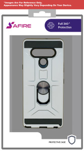 Motorola E7 MM Ringstand Case Silver