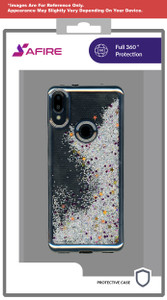 Lg Aristo 5+ MM Electroplated Water Glitter Case  Silver