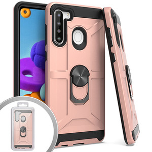 Lg Aristo 5+ MM Ring stand Case Rose Gold