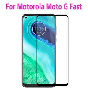 Motorola G Fast MM Full Covered Tempered Glass Black
