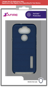 Samsung A11 MM Deluxe Brushed Case Navy Blue