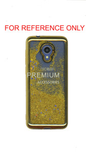 Samsung A11 MM Electroplated Water Glitter Case Gold