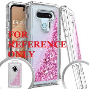 Samsung A01 MM Water Glitter Hybrid Rose Gold