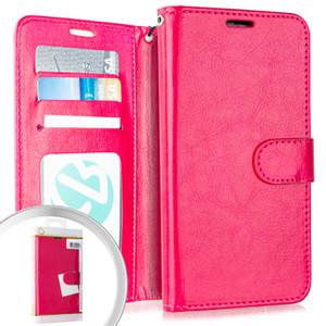 Lg K51 MM Folio Wallet Hot Pink